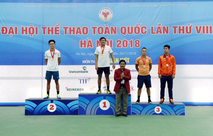 Lý Hoàng Nam giành 2 HCV tại Đại hội TT toàn quốc 2018