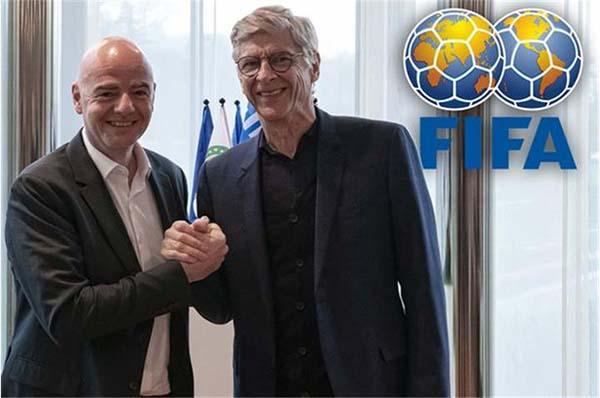 HLVArsene Wenger chính thức trở thành 1 thành viên chính thức của FiFa