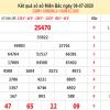 Bảng KQXSMB- Thống kê xổ số miền bắc ngày 07/07 chuẩn xác