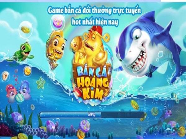 Bắn cá hoàng kim chơi game hay đổi thưởng nhanh chóng