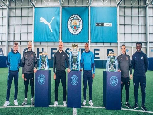 Tin thể thao 25/5: Man City là đội ẵm 3 cúp Premier League đầu tiên