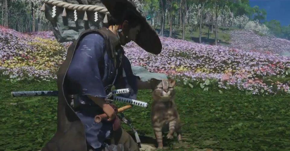 Ghost of Tsushima: Iki Island Cho phép người chơi thuần hóa mèo, hươu và các động vật khác